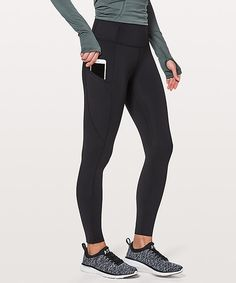 d2aafd24b8b black Lululemon Leggings High Waisted