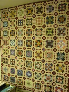 Lucy Boston Patchwork of the Crosses Inklingo Projects: POTC Finished !!!