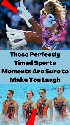 When we think about our favorite pro athlete stars, the words that come to mind are usually inspirational, poised, and professional. But sometimes in sports, no matter how intense the game can get, things aren't always so graceful and proficient – and these perfectly timed photos are the perfect example of that!