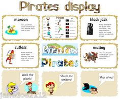 Image detail for -KS1 topic - PIRATES CLASSROOM DISPLAY - Letters, Help mat, Posters ...