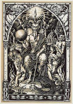002-Satanas sentado en el trono- Maurice Garçon. La Vie Execrable de Guillemette…