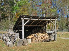 Image result for rustic pole lean to