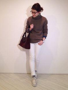 outfit coordinate styling #ootd japanese blogger fashion コーディネート コーデ スタイリング アウトフィト #ootd coordinate style styling コーデ コーディネート コンバース キャンバス スニーカー ハイカット ローカット 白 ホワイト white 黒 ブラック black