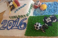 Graduation sport cake