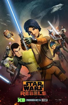 Star Wars Rebels Season Two. Rex is in the poster! Premieres October 14