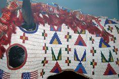 Native American horse headgear