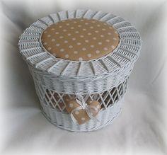 kulatý košík z papíru s úchyty - Hledat Googlem