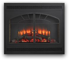 Outdoor GreatRoom Rectangular Arch Built-In Electric Fireplace - Fireplaces and Inserts at Hayneedle