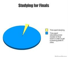 studying for finals