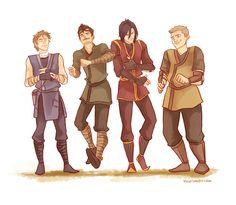 Mauraders as benders :) Sirius' face =)
