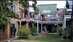 Big Fork, Montana - love their downtown.