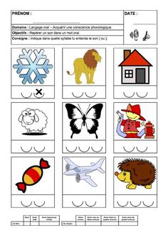 Le son ON : Fiches sons phonologie GS | maître françois Maternelle Grande Section, French Immersion, Sons, Alphabet, Homeschool, Teaching, Wordpress, Conscience, Montessori