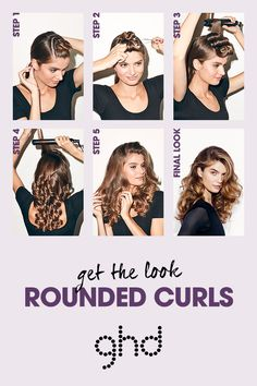 Create party season styles with ghd platinum. #RoundedCurls #InfiniteStyles