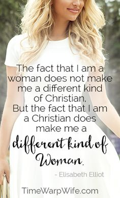 My favorite Elisabeth Elliot quote. Christian Women, Christian Life, Christian Quotes, Virtuous Woman, Godly Woman, Elizabeth Elliot, Jim Elliot, Soli Deo Gloria, Biblical Womanhood