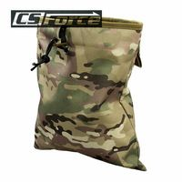 Military Molle Belt Tactical Magazine Dump Drop Reloader Pouch Bag Utility Hunting Magazine Pouch Airsoft Accessory Hunting Bag