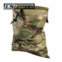 Military Molle Belt Tactical Magazine Dump Drop Reloader Pouch Bag Utility…