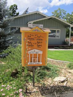 Bruce Croissant. Loveland, CO. This little library of mine... I'm going to let it shine... a light on literacy. It will illuminate knowledge and compassion; community and social values. My hope is that it will put smiles on many faces and instill gentle memes in the minds behind those faces.