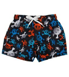 Flapdoodles Boys' Skull Trunk (12mos-4T) #swimoutlet Swimsuits 2014, Swimwear, Swim Shop, Trunks, Skull, Swimming, Popular, Boys, Shopping