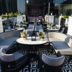 David Collins Studio- Vogue Lounge in Bangkok
