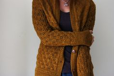 Ravelry: Pomme de pin Cardigan pattern by Amy Christoffers blue from WI