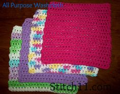 All Purpose Washcloth ~FREE pattern!