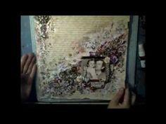▶ Mixed Media Layout tutorial by Ayeeda - YouTube