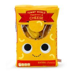 Yummy World, Fun World, Food Plushies, Huge Teddy Bears, Food Pillows, Robots For Kids, Barbie Life, Cute Stuffed Animals, Macaroni Cheese