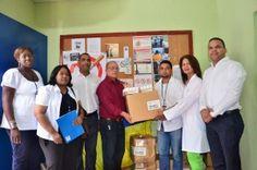 Operacion Bendicion RD dona medicamentos a Hogar Crea