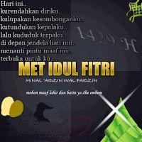 gambar kartu ucapan selamat Idul Fitri bergerak