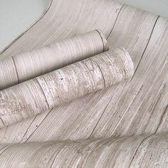 Bleached Wood Wallpaper Barnwood Barn Rustic Fabric
