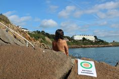 All welcome to embrace social nudity at Hawk Cliff, Dalkey, Co. Dublin Cliff, Dublin, Ireland, Nude, Events, Irish