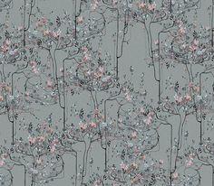 Flower Trees | Marlies Niemeijer | www.angels-trumpet.com