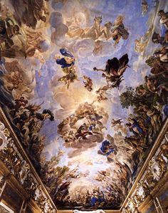 The Athenaeum - Decorative Ceiling (Palazzo Medici Riccardi) (Luca Giordano - )