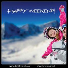Mutlu hafta sonları! wink ifade simgesi  http://www.turkeytour.net/  #TurkeyTour #weekend #haftasonu #cumartesi #travel