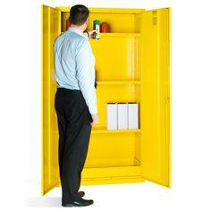 Mini Hazardous Substance Cabinet Shelf These Robust Metal - Hazardous cabinets