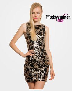 İroni kolsuz payet elbise -vizyon Cesur stiller yaratmaya ne dersiniz!  Hemen İnceleyin: http://www.modafeminen.com #Ebise #Stil #Giyim #Moda