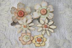 Paper flower embellishments...