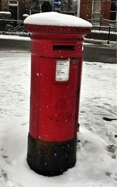 Postbox in the snow (via Post Box, Amanda, Snow, Mailbox, Eyes, Let It Snow