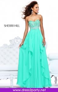Againg another fantastic dress- Beautiful colour and fabulous design just stunning - Sherri Hill 3874