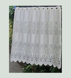 white lace curtain french lace curtain scalloped lace curtains