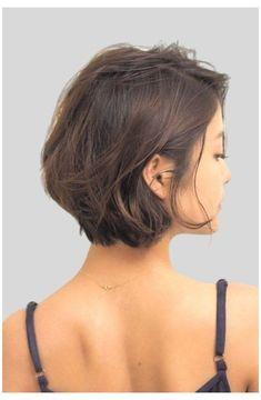 Short hairstyle women fine hair #short #hairstyle #women #fine #hair Short Hairstyles For Thick Hair, Bob Hairstyles, Thick Short Hair, Short Haircut Thick Hair, Short Hair For Women, Short Fine Hair, Short Haircuts For Women, Braided Hairstyles, Short Hair Back