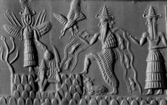 Enlil was the deity of crafts  mischief; water, seawater, lakewater  and creation