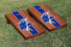 Elizabeth City State Vikings Rosewood Varsity Stripe Bag Toss Game