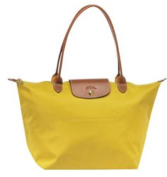 yellow longchamp - i would like this to be my summer bag... my