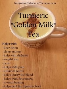 """Golden Milk"" Tea - Melissa Malinowski, ND Naturopath Practit. - Sweet Food -Turmeric ""Golden Milk"" Tea - Melissa Malinowski, ND Naturopath Practit. Golden Milk Tea, Turmeric Golden Milk, Turmeric Tea, Turmeric Health, Garlic Health, Tumeric Face, How To Eat Turmeric, Detox Drinks, Drink Recipes"