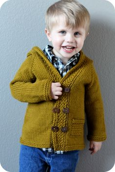 Baby Latte Coat-link to purchase pattern in article