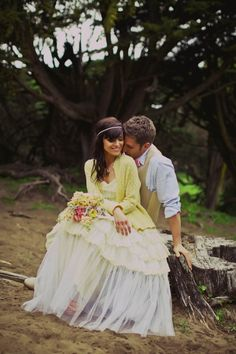 love the look of a cardigan over a wedding dress