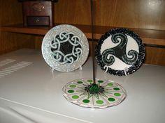 Incensario e Mandalas Celtas