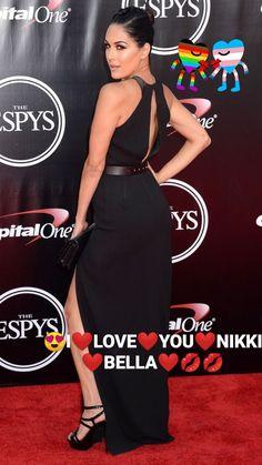 Nikki Bella Photos, Becky Wwe, Brie Bella, Wwe Womens, Bellisima, Superstar, Peplum Dress, Dresses, Fashion