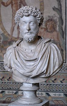 "Marcus Aurelius, April 26, 121 CE. – March 17, 180 CE.), was Roman Emperor from 161 to 180 CE. He ruled with Lucius Verus as co-emperor from 161 until Verus' death in 169. He was the last of the ""Five Good Emperors"", and is also considered one of the most important members of the Stoic philosophers."